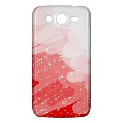 Red Pattern Samsung Galaxy Mega 5 8 I9152 Hardshell Case  by Valentinaart