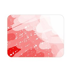 Red Pattern Double Sided Flano Blanket (mini)  by Valentinaart