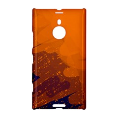 Orange And Blue Artistic Pattern Nokia Lumia 1520 by Valentinaart