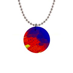 Colorful Pattern Button Necklaces