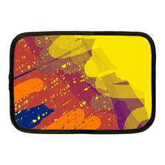 Colorful Abstract Pattern Netbook Case (medium)  by Valentinaart