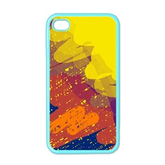 Colorful Abstract Pattern Apple Iphone 4 Case (color) by Valentinaart