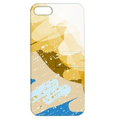 Artistic Pastel Pattern Apple Iphone 5 Hardshell Case With Stand by Valentinaart