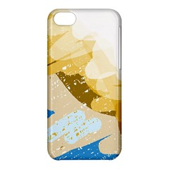 Artistic Pastel Pattern Apple Iphone 5c Hardshell Case by Valentinaart