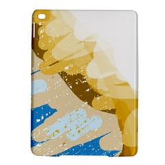 Artistic Pastel Pattern Ipad Air 2 Hardshell Cases by Valentinaart