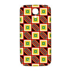 Squares And Rectangles Pattern                                                                                         			samsung Galaxy S4 I9500/i9505 Hardshell Back Case by LalyLauraFLM