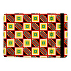 Squares And Rectangles Pattern                                                                                         samsung Galaxy Tab Pro 10 1  Flip Case by LalyLauraFLM