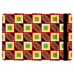Squares And Rectangles Pattern                                                                                         			apple Ipad Air Flip Case by LalyLauraFLM