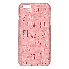 Elegant Pink Pattern Iphone 6 Plus/6s Plus Tpu Case by Valentinaart