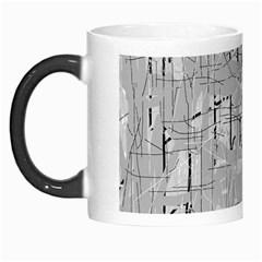 Gray Pattern Morph Mugs by Valentinaart