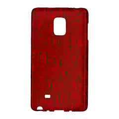 Red Pattern Galaxy Note Edge by Valentinaart