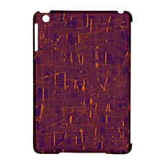 Purple Pattern Apple Ipad Mini Hardshell Case (compatible With Smart Cover) by Valentinaart