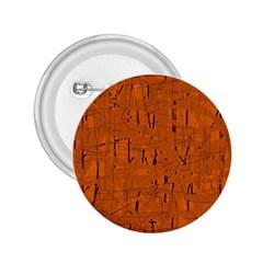 Orange Pattern 2 25  Buttons by Valentinaart
