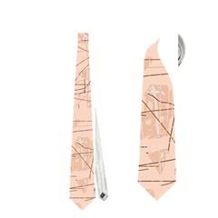 Elegant patterns Neckties (Two Side)  by Valentinaart