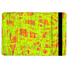 Yellow And Orange Pattern Ipad Air 2 Flip by Valentinaart