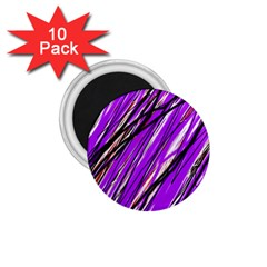 Purple Pattern 1 75  Magnets (10 Pack)  by Valentinaart