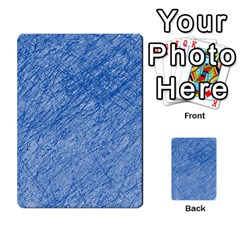 Blue Pattern Multi Purpose Cards (rectangle)
