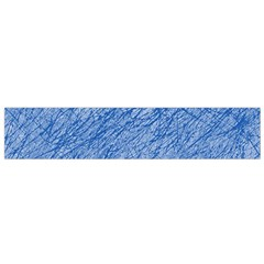 Blue Pattern Flano Scarf (small)