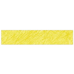 Yellow Pattern Flano Scarf (small)