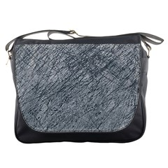 Gray Pattern Messenger Bags by Valentinaart