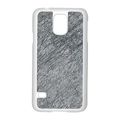 Gray Pattern Samsung Galaxy S5 Case (white) by Valentinaart