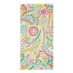 Hippie Flowers Pattern, Pink Blue Green, Zz0101 Shower Curtain 36  X 72  (stall) by Zandiepants