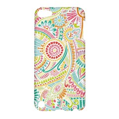 Hippie Flowers Pattern, Pink Blue Green, Zz0101 Apple Ipod Touch 5 Hardshell Case by Zandiepants