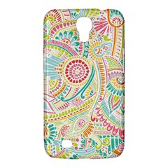 Hippie Flowers Pattern, Pink Blue Green, Zz0101 Samsung Galaxy Mega 6 3  I9200 Hardshell Case by Zandiepants