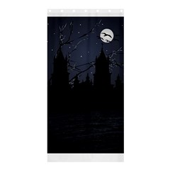 Dark Scene Illustration Shower Curtain 36  X 72  (stall)  by dflcprints