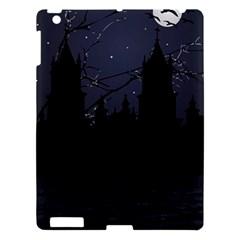 Dark Scene Illustration Apple Ipad 3/4 Hardshell Case by dflcprints