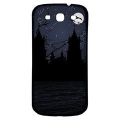 Dark Scene Illustration Samsung Galaxy S3 S Iii Classic Hardshell Back Case by dflcprints