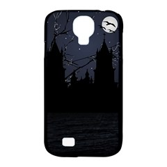Dark Scene Illustration Samsung Galaxy S4 Classic Hardshell Case (pc+silicone) by dflcprints