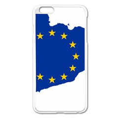 Catalonia European Union Flag Map  Apple iPhone 6 Plus/6S Plus Enamel White Case by abbeyz71