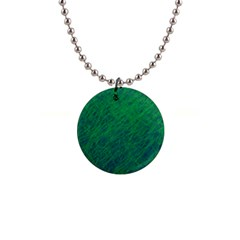 Deep Green Pattern Button Necklaces by Valentinaart