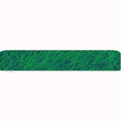 Deep Green Pattern Small Bar Mats by Valentinaart