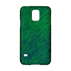 Deep Green Pattern Samsung Galaxy S5 Hardshell Case  by Valentinaart