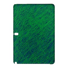 Deep Green Pattern Samsung Galaxy Tab Pro 12 2 Hardshell Case by Valentinaart