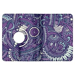 Purple Hippie Flowers Pattern, Zz0102, Kindle Fire Hdx Flip 360 Case by Zandiepants