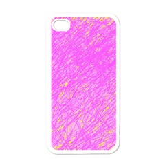 Pink Pattern Apple Iphone 4 Case (white) by Valentinaart