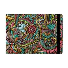 Colorful Hippie Flowers Pattern, Zz0103 Apple Ipad Mini 2 Flip Case by Zandiepants