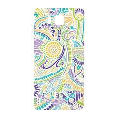 Purple, Green, Yellow Hippie Flowers Pattern, Zz0104, Samsung Galaxy Alpha Hardshell Back Case by Zandiepants