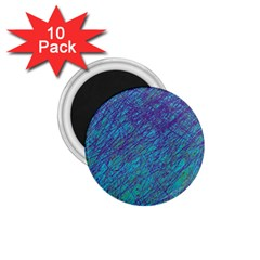 Blue Pattern 1 75  Magnets (10 Pack)  by Valentinaart