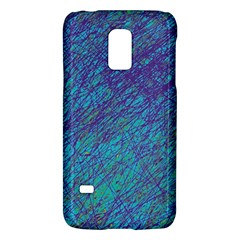 Blue Pattern Galaxy S5 Mini by Valentinaart