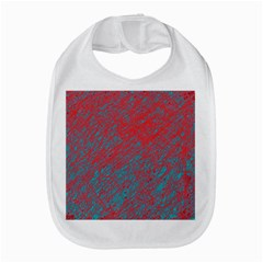 Red And Blue Pattern Bib by Valentinaart