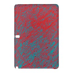 Red And Blue Pattern Samsung Galaxy Tab Pro 12 2 Hardshell Case by Valentinaart