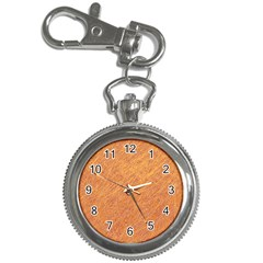Orange Pattern Key Chain Watches by Valentinaart