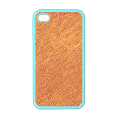 Orange Pattern Apple Iphone 4 Case (color) by Valentinaart