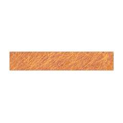 Orange Pattern Flano Scarf (mini) by Valentinaart