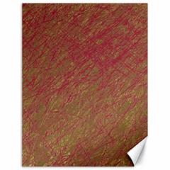 Brown Pattern Canvas 18  X 24   by Valentinaart