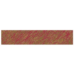 Brown Pattern Flano Scarf (small) by Valentinaart